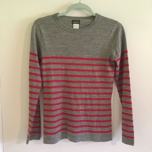 Patagonia Merino Wool Striped Sweater